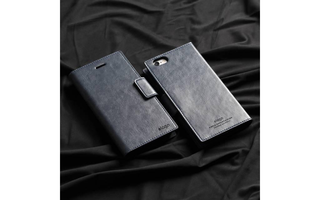 House en cuir noir pour téléphone