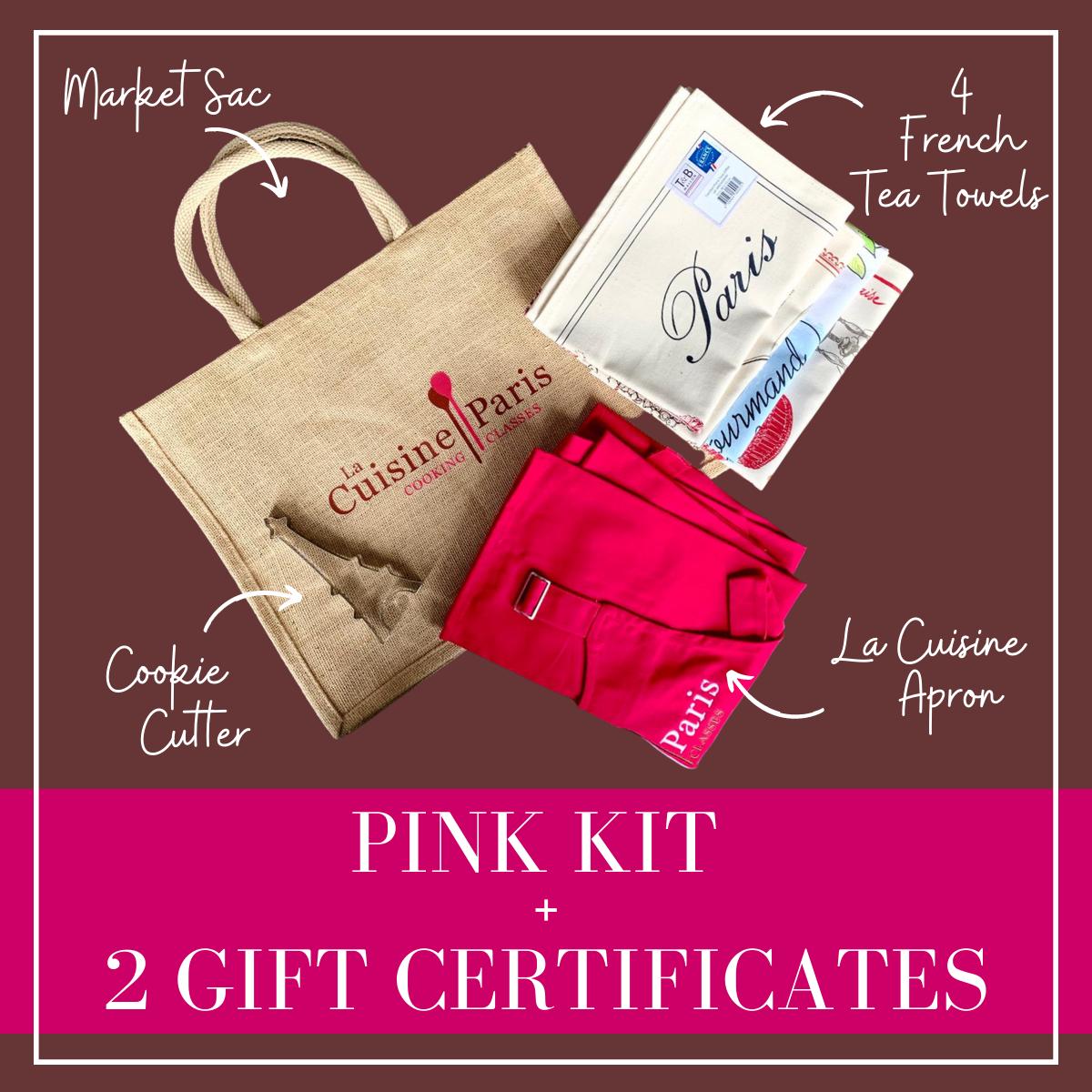 Pink La Cuisine Paris Kit + 2 Video Gift Certificate