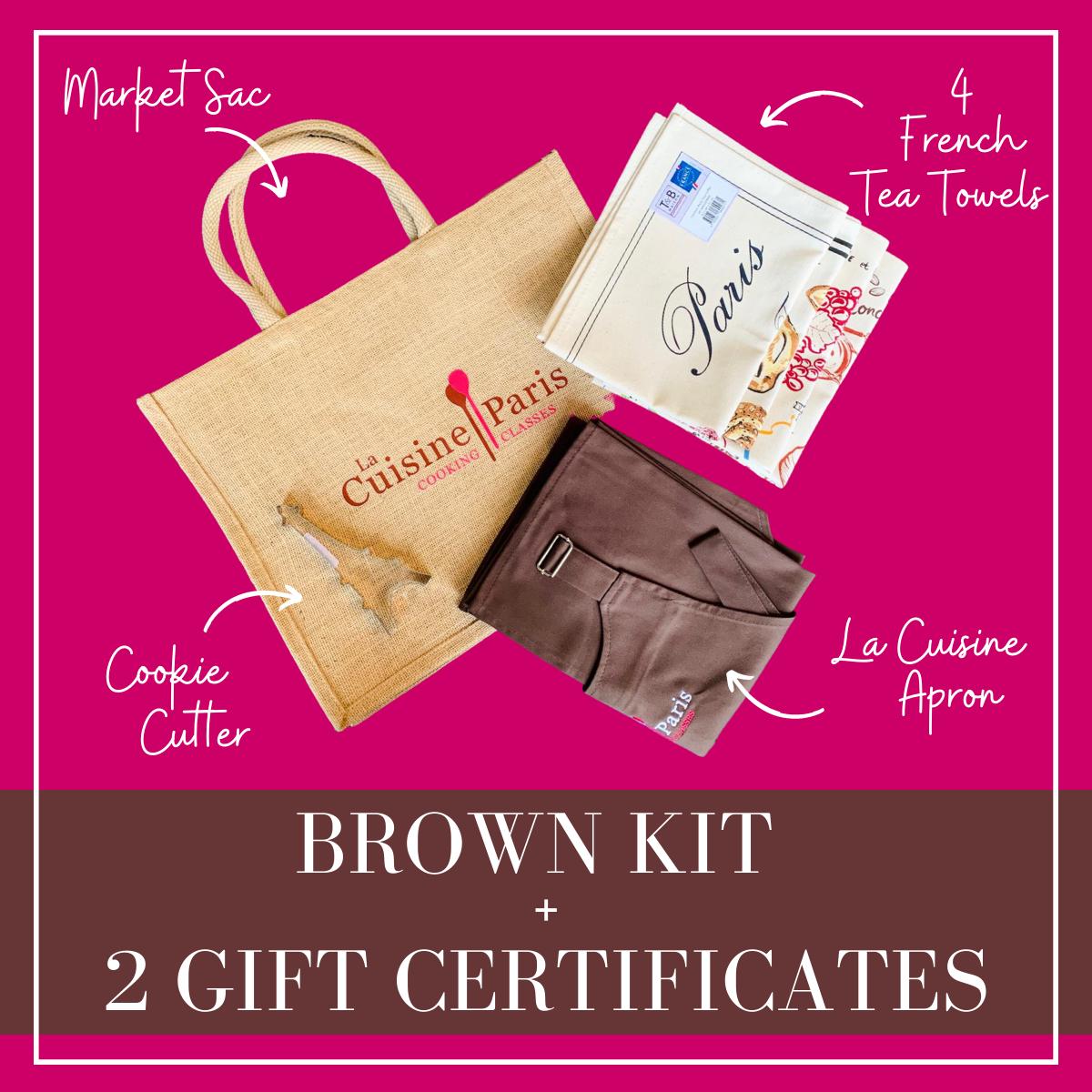 Brown La Cuisine Paris Kit + 2 Video Gift Certificate