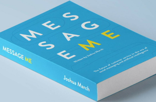 f4a3ed71d160 Read an extract from Joshua March s  Message Me  book