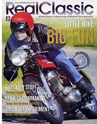 It's in the Mag! Royal Enfield Continental featured in RealClassic issue 11. Click for more.