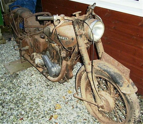 Unrestored, original condition. Ride away bargain.