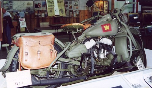 Now that's a REAL Harley. A 1943 ELC, in fact