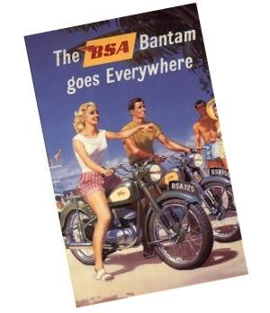 BSA Bantam Brochure