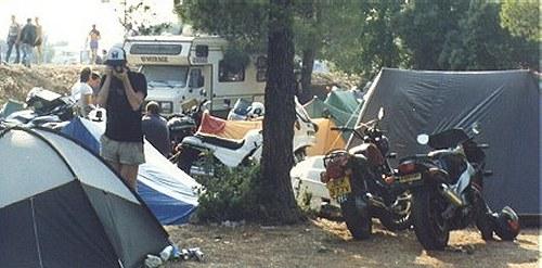 Bol d'Or campsite, Circuit Paul Ricard, 1989