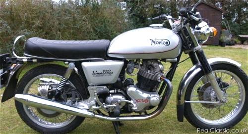 'Consider the Norton Commando'...