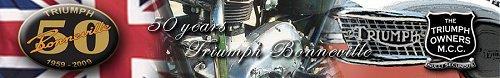 A Triumph Bonneville DVD advert, yesterday...