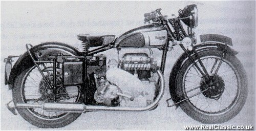 'Granville Bradshaw's Panther inline twin