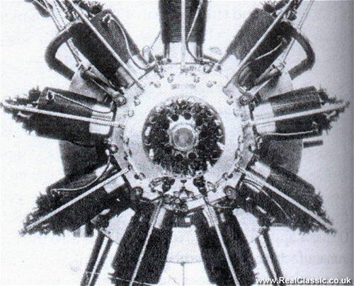 'Granville Bradshaw's ABC Dragonfly rotary aero engine