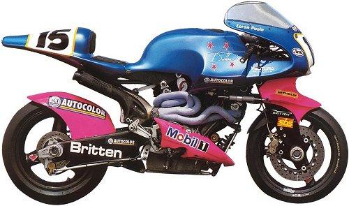 The Britten V1000...