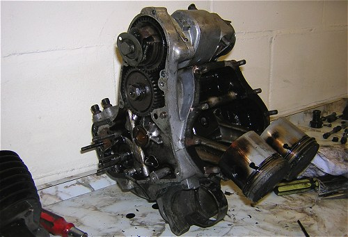 The engine was old, but it refused to roll over and die.