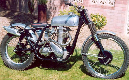 350cc trials version. Sparse.