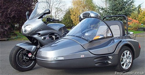 Trophy sidecar outfit....