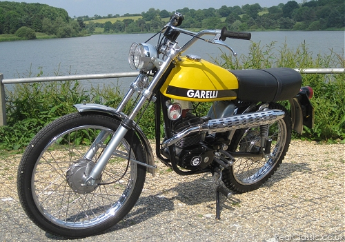 Garelli. Magnetic, to those of use born in the sixties...