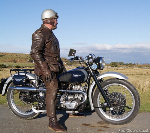 The lone Douglas rider scans the distant horizon in search of an accountant...