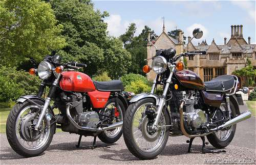 'We don't run giant comparison tests of old bikes'...
