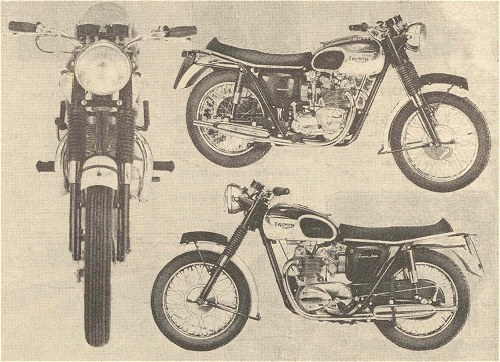 The T100 was available in left-hand, right-hand and very-tall versions.