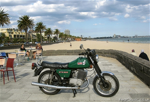 Bike decoked, time for a run to the beach...