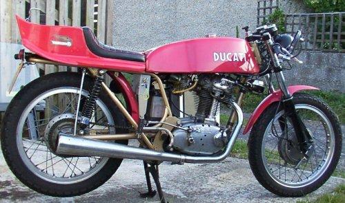 1974 Ducati 350 Mk3 - Less is more.