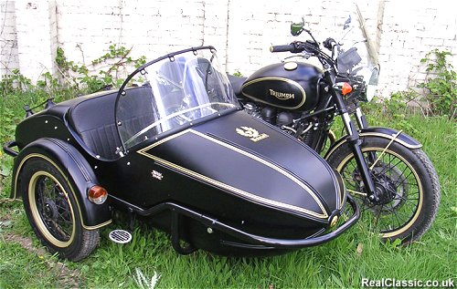 There'll be proper sidecars too.
