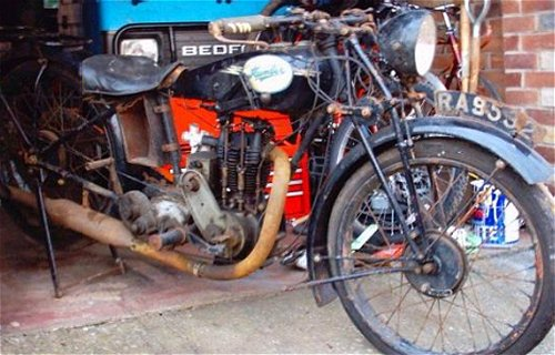 Give it a wipe down with an oily rag, then enter it in the next Humber Riders' Club trackday...