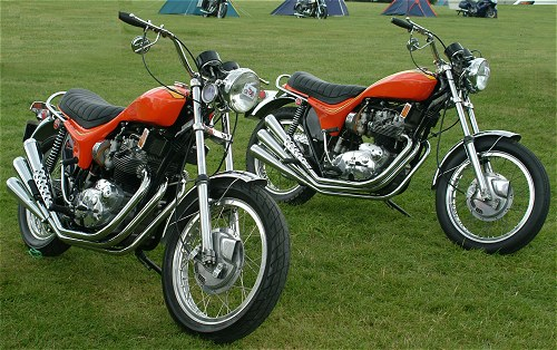 This is all getting a bit depressing; let's have a look at a couple of proper X75s...