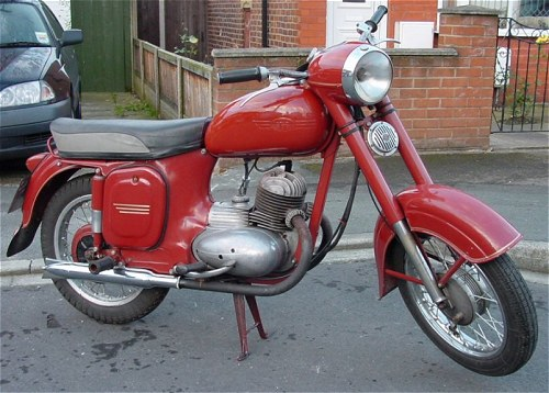 No tin shortages when this bike was made.