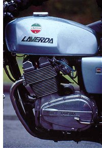 Laverda motors always look as though the engine cases are stretched tight across the internals. Or is it just me?