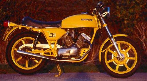 Yellow Strada. Very yellow...