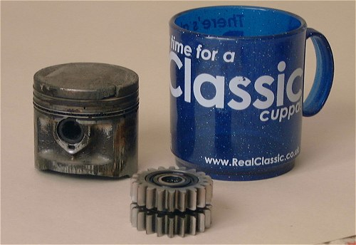 A stripdown following the test revealed a badly worn piston and worn balance shaft gears. RealClassic declined to comment.