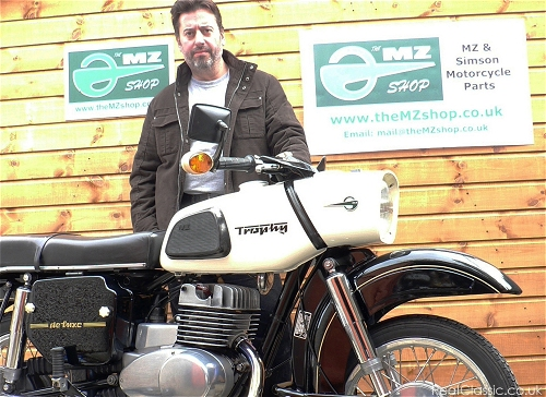 Phil and one of his restorations