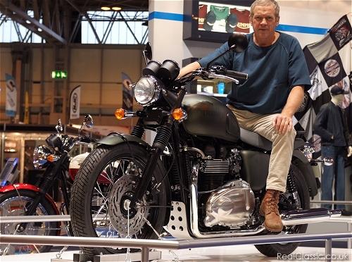 Steve McQueen... Or A65Bill?