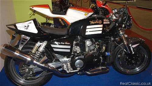 Norton Rotary café racer, and the curse of NEC lighting again...