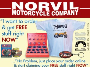 Calm down dear. It's a Norton tee shirt.