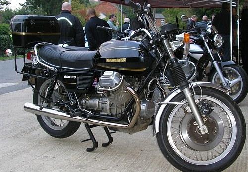 Here's one Moto Guzzi prepared earlier.