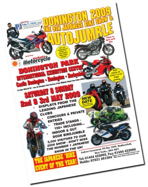 The Classic Japanese Motorcycle Show at Donington Park Exhibition Centre