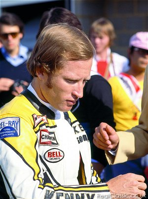 Kenny Roberts, when he could still part his hair...