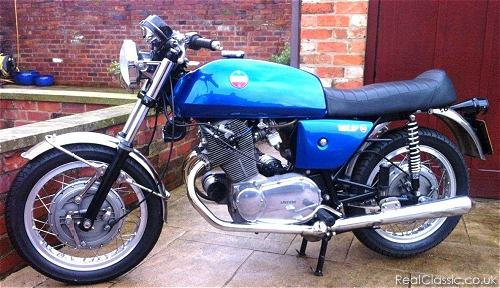 Laverda in search of missing sunshine...