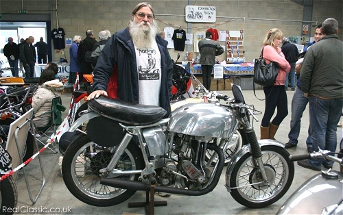 An Earles racer, yesterday...