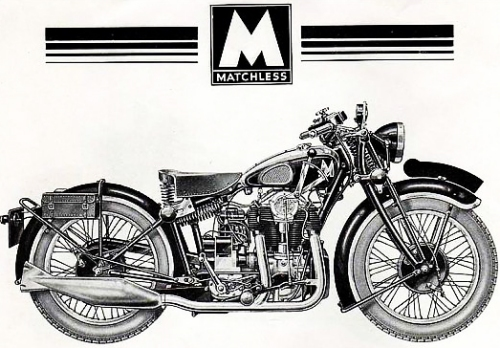 Matchless - Coming soon to a tee shirt near you?...