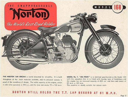'Norton Still Holds the TT Lap Record' (But not on a bike like this)
