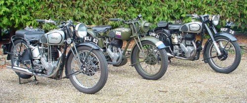 Sometimes, one sidevalve Norton isn't enough.