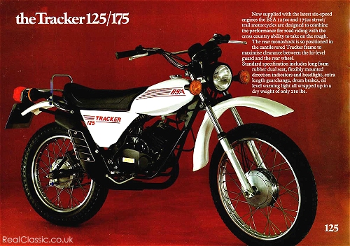 Indicators! Foam-rubber seat! Long gearchange! They really knew how to sell a bike in those days...