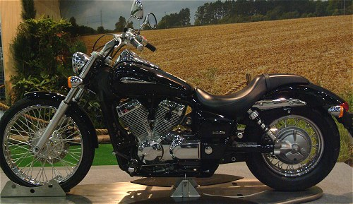 ...While this understated and bog-standard Honda cruiser was one of my favourites of the show.