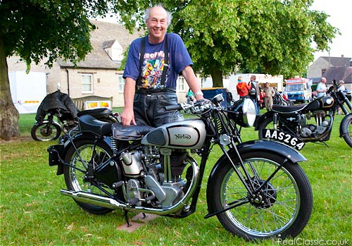 Paul and his Norton...