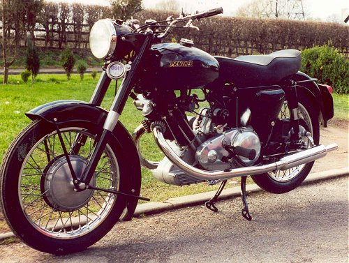 The Panther motor is probably best described as 'unconventional', like many Panther owners! It's handsome too, like, erm...