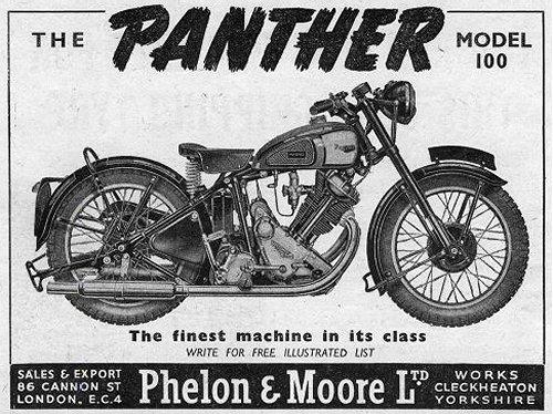 Back when bikes were black and white...