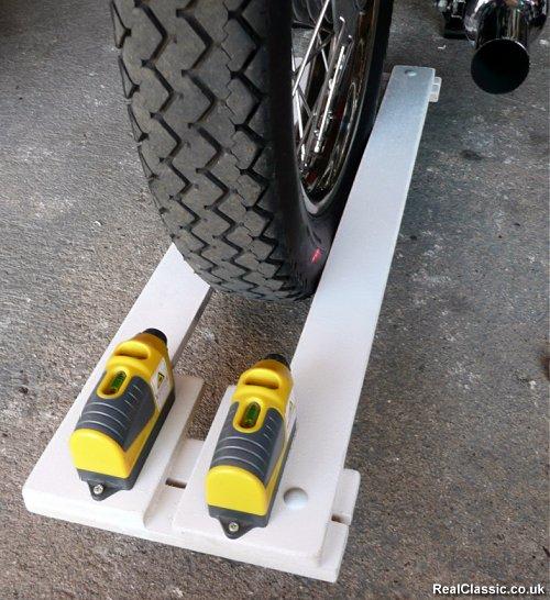 DIY Wheel Alignment Tool