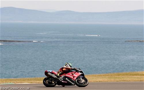 Anglesey, and a 20 year old Kawasaki. Yes, really...