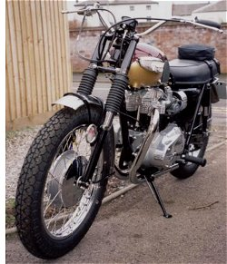 Cor. Proper motorbike or what? And is this the best looking Bonnie of all time?